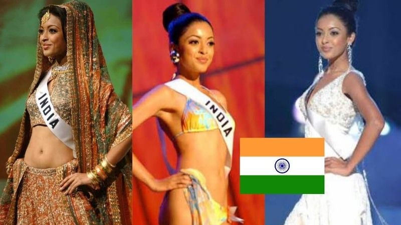 Tanushree Dutta in Miss Universe