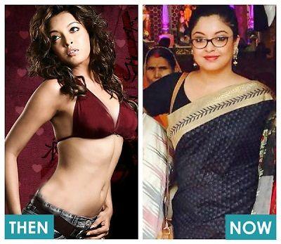 Tanushree Then Now