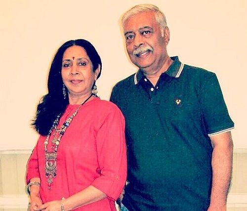 Ankita Bhargava's parents