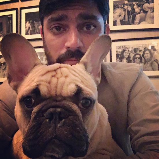 Karan Boolani's Pet Dog