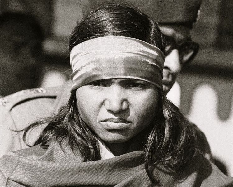 Phoolan Devi Dressed As Decoit