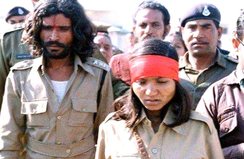Phoolan Devi With Her Lover Man Singh